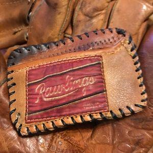 Tim McCarver Cardinals Baseball Glove Wallet